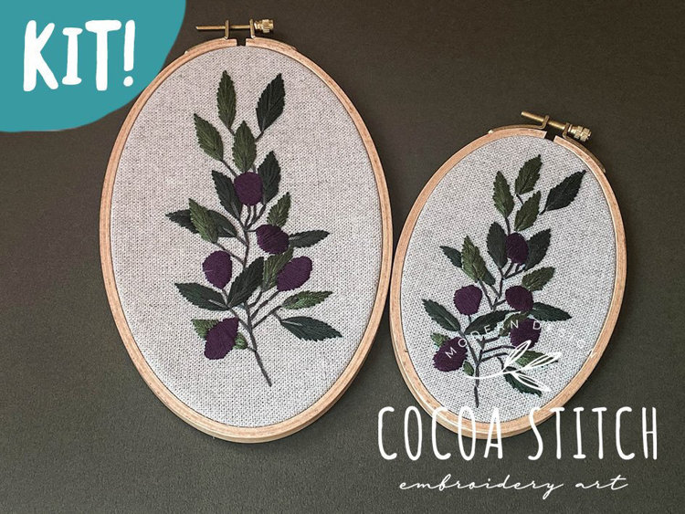 """Picture of 6"""", 8"""" Olive Branch Kit  Set"""
