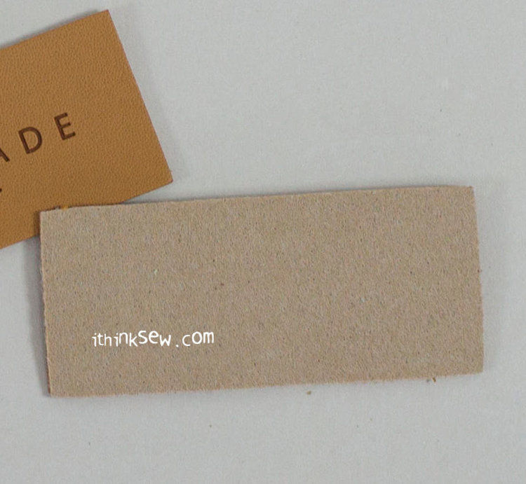 Picture of Large PU Leather Tag 10 EA - Brown - Free Shipping + 20% Off