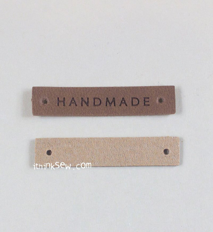 Picture of Two Kinds of Small PU Leather Tag 20 EA - Free Shipping + 10% Off