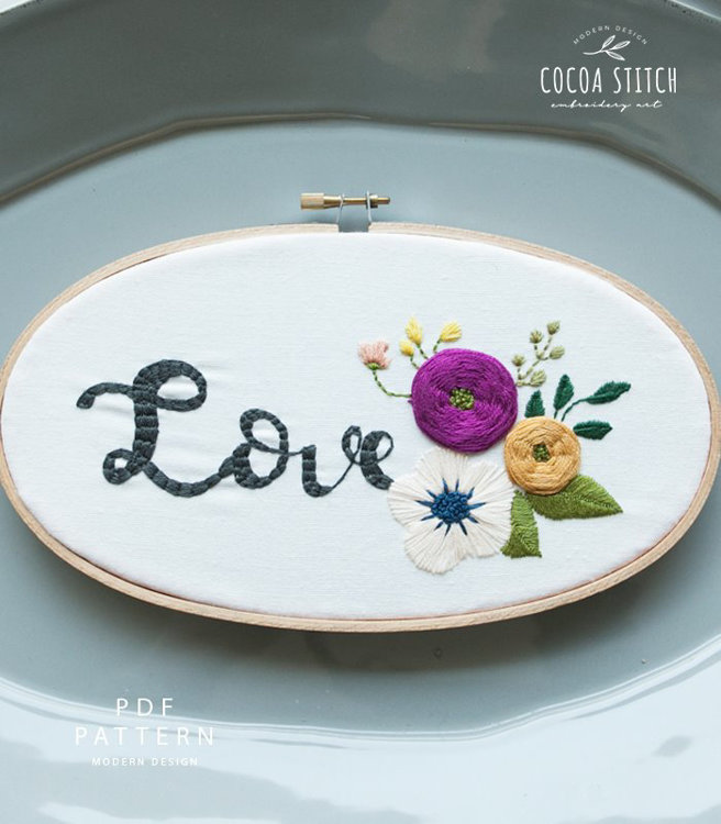 Picture of Three Embroidery Kits + $20 Button Points + Free Shipping